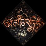 Titolo: MantraTantra2 Tecnica Misto Materico Pigmentato su Legno - cm 40x40