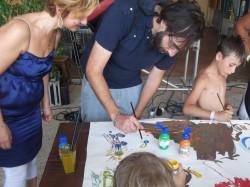 Massimiliano e Stefania artisti provetti