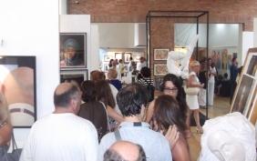flusso di visitatori al Museo Emilio Greco per la Mostra