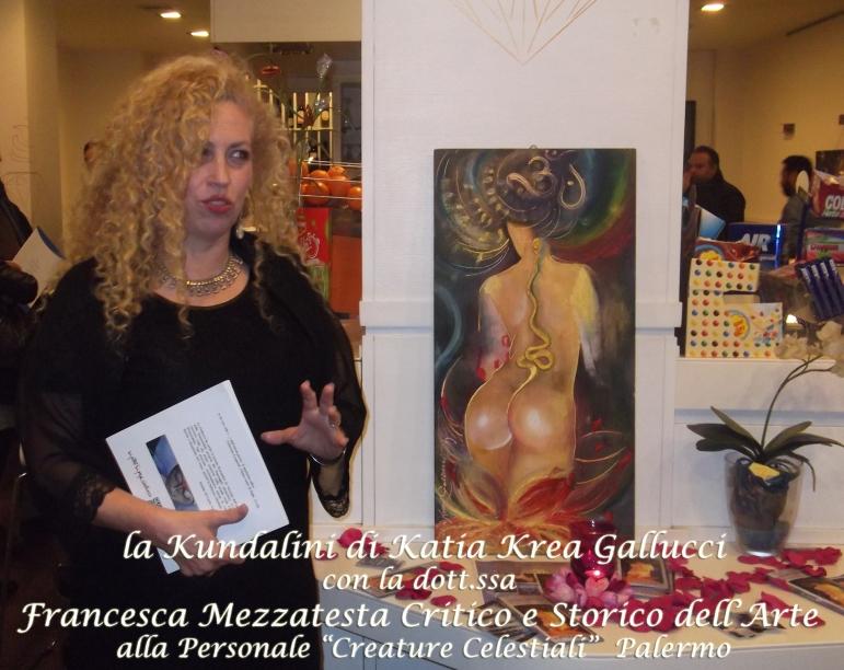 la Kundalini e Francesca Mezzatesta